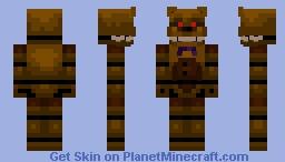 Best Fredbear Minecraft Skins   Page 3 - Planet Minecraft