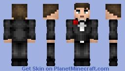 Dude in a Tux Minecraft Skin