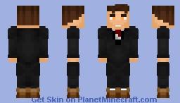 Bart Allen | Tux | DC | JusticeCraft Minecraft Skin