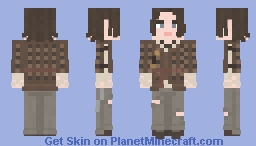 Arya Stark | Game of Thrones | The Children Minecraft Skin