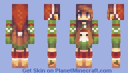 santa tell me // male version included Minecraft Skin