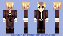 Edward Elric Minecraft Skin