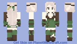 Elf Ranger Minecraft Skin
