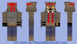Dire Fortnite Season 6 (Steve Model) Minecraft Skin
