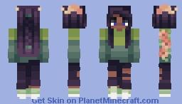 in the woods Minecraft Skin