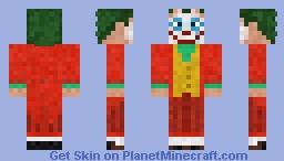 The Joker (Joker 2019) Minecraft Skin
