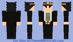Jotaro Kujo - Stardust Crusaders (School Uniform) Minecraft Skin Minecraft Skin