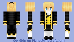 Len Kagamine | Story of Evil | Servant of Evil Minecraft Skin