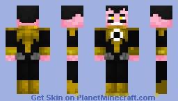 SINESTRO Minecraft Skin