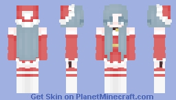 .:Natalie's Christmas outfit:. Minecraft Skin