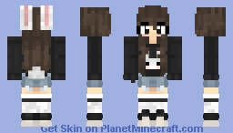 anime eyes Minecraft Skin
