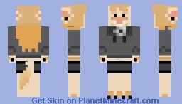 del the dingo Minecraft Skin