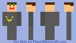 a rubbish man Minecraft Skin