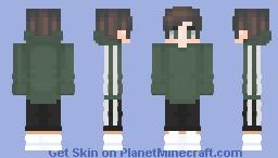 ▹ green adidas ◃ Minecraft Skin