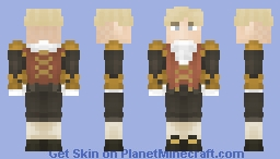 [LotC] Wealthy French Noble Minecraft Skin