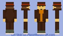 Prof. Hershel Layton Minecraft Skin