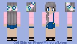 ❧thank u, next Minecraft Skin