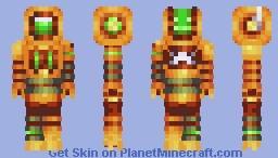 Copper Bot Minecraft Skin
