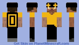 MVP++ Steve Minecraft Skin