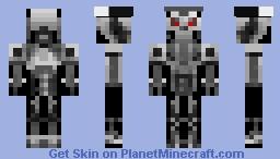 Robot invader Minecraft Skin