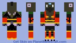 MMX7: Wind Crowrang Minecraft Skin
