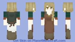 That chick from TW3 Minecraft Skin