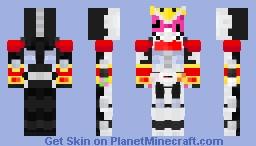 Kamen Rider Zi-O Kuuga Armor Minecraft Skin