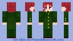 noriaki kakyoin [JJBA] Minecraft Skin