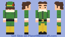 Buddy The Elf Minecraft Skin