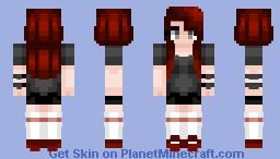 half of my heart Minecraft Skin
