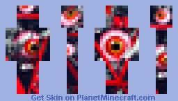 Eye Of Horror! Minecraft Skin