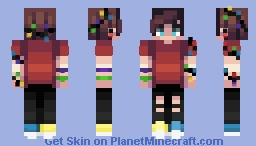 twinkling lights // day one // christmas lights Minecraft Skin