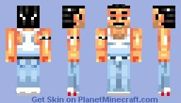 Freddie Mercury from QUEEN! Minecraft