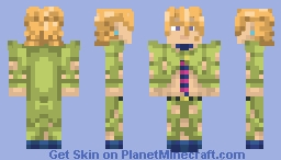 Pannacotta Fugo (Jojo Vento Aureo) +1.8 Minecraft Skin