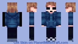 Tom(eddsworld){catlightning77} Minecraft Skin
