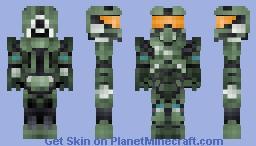 Halo 4 - Master Chief (1.8 Format) Minecraft Skin