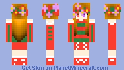 SugarGirl | Winter Wonderland Community Event Minecraft Skin