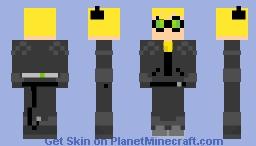 Cat Noir Minecraft Skin
