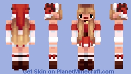~✿~ Bell | Your Christmas Elf Minecraft Skin