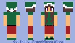 Half elf dreams! - Winter Wonderland Community Event. Minecraft Skin