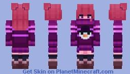 Oversized Sweater w/ Uggs & Stockings Minecraft Skin