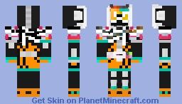 Kamen Rider Zi-O Decade Armor Ex-Aid Form R Minecraft Skin