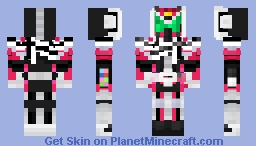Kamen Rider Zi-O Decade Armor Minecraft Skin