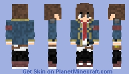 Ethan Williams (Future Dairy 2: The Return Of The User) (2nd Universe) Minecraft Skin