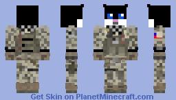 Military Hamster Minecraft Skin
