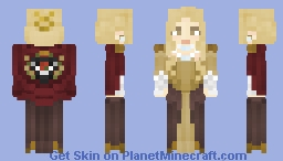 [LotC] Honored Gown Minecraft Skin