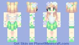 Nature Goddess ( Five Elements Contest ) Minecraft Skin