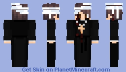 Dead pastor Minecraft Skin