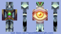 Fire Of Eye / Five Elements Contest / Minecraft Skin