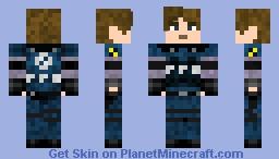 Resident Evil 2 Leon skin Minecraft Skin